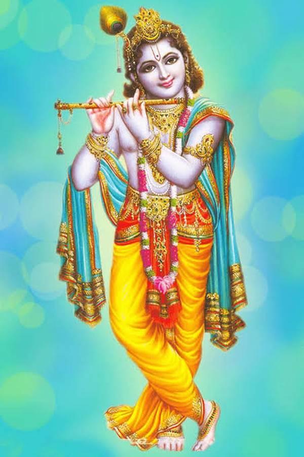 Radha Krishna Wallpaper Hd - Lord Krishna Background Hd - HD Wallpaper