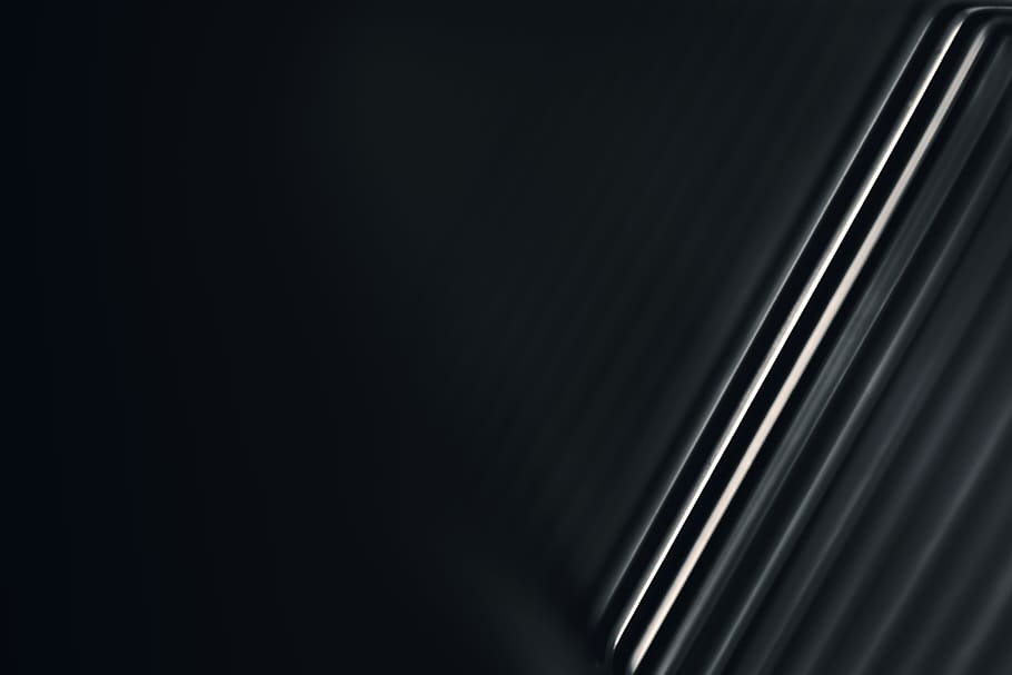 Line, Light, Black And White, Abstract, Minimal, Contrast, - Darkness - HD Wallpaper