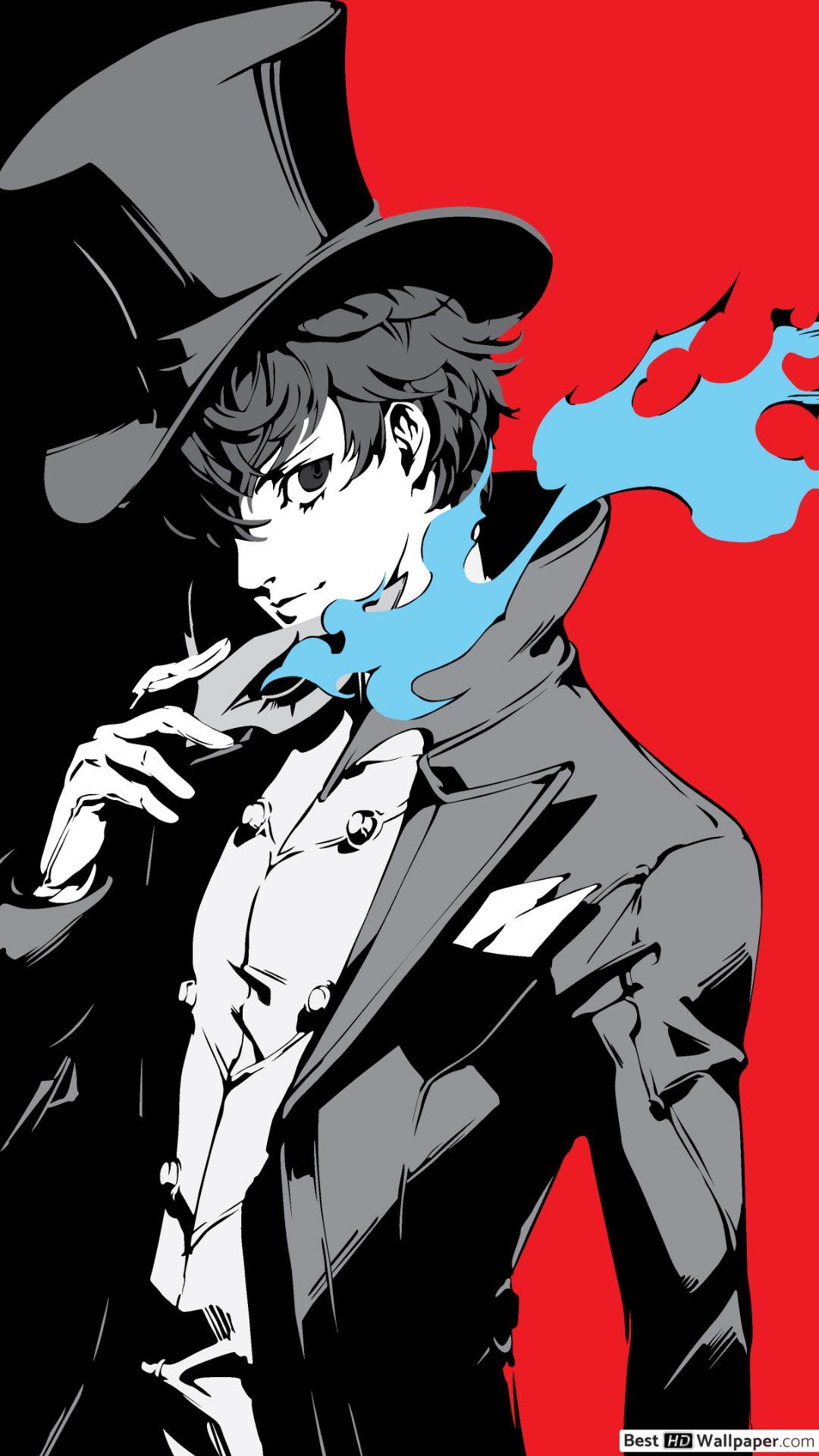 Persona 5 Joker Anime 1080x19 Wallpaper Teahub Io