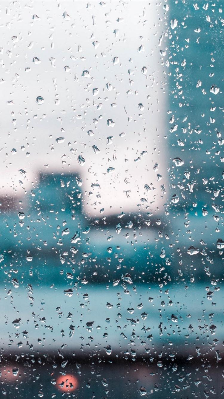 Iphone Wallpaper Glass Many Water Droplets Windows 10 Background Rain 750x1334 Wallpaper Teahub Io