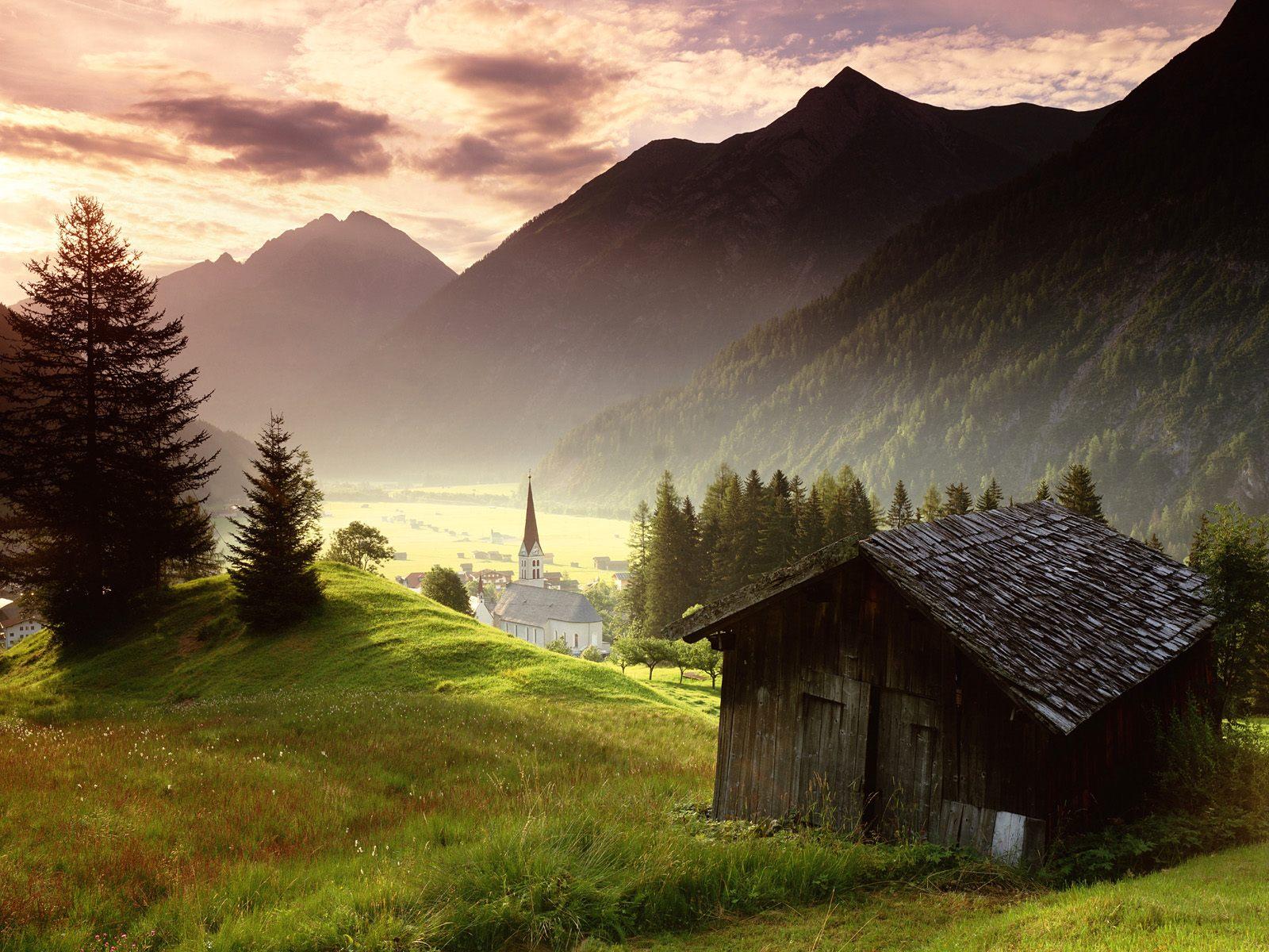 Tyrol - Full Hd Wallpapers 1080p Widescreen Nature - HD Wallpaper