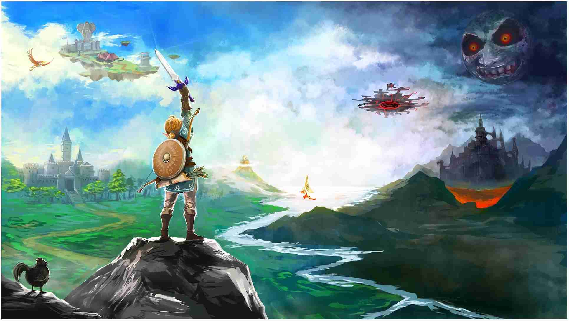 The Best Breath Of The Wild Wallpapers Beautiful Collection - Legend Of Zelda Breath Of The Wild - HD Wallpaper