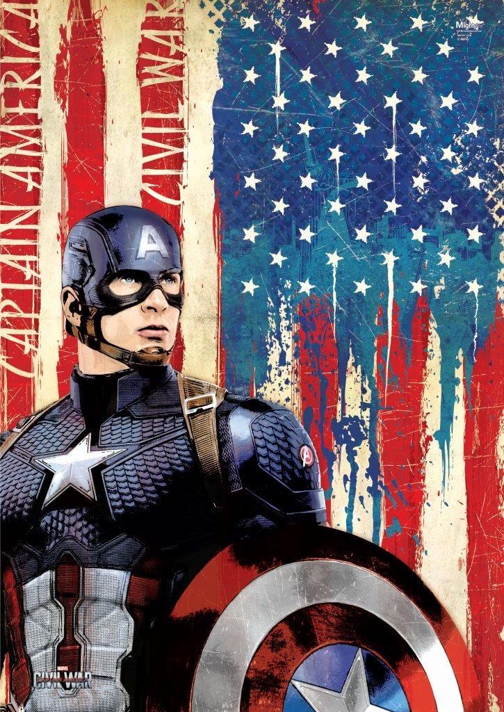 Captain America Civil War Promo Art - HD Wallpaper