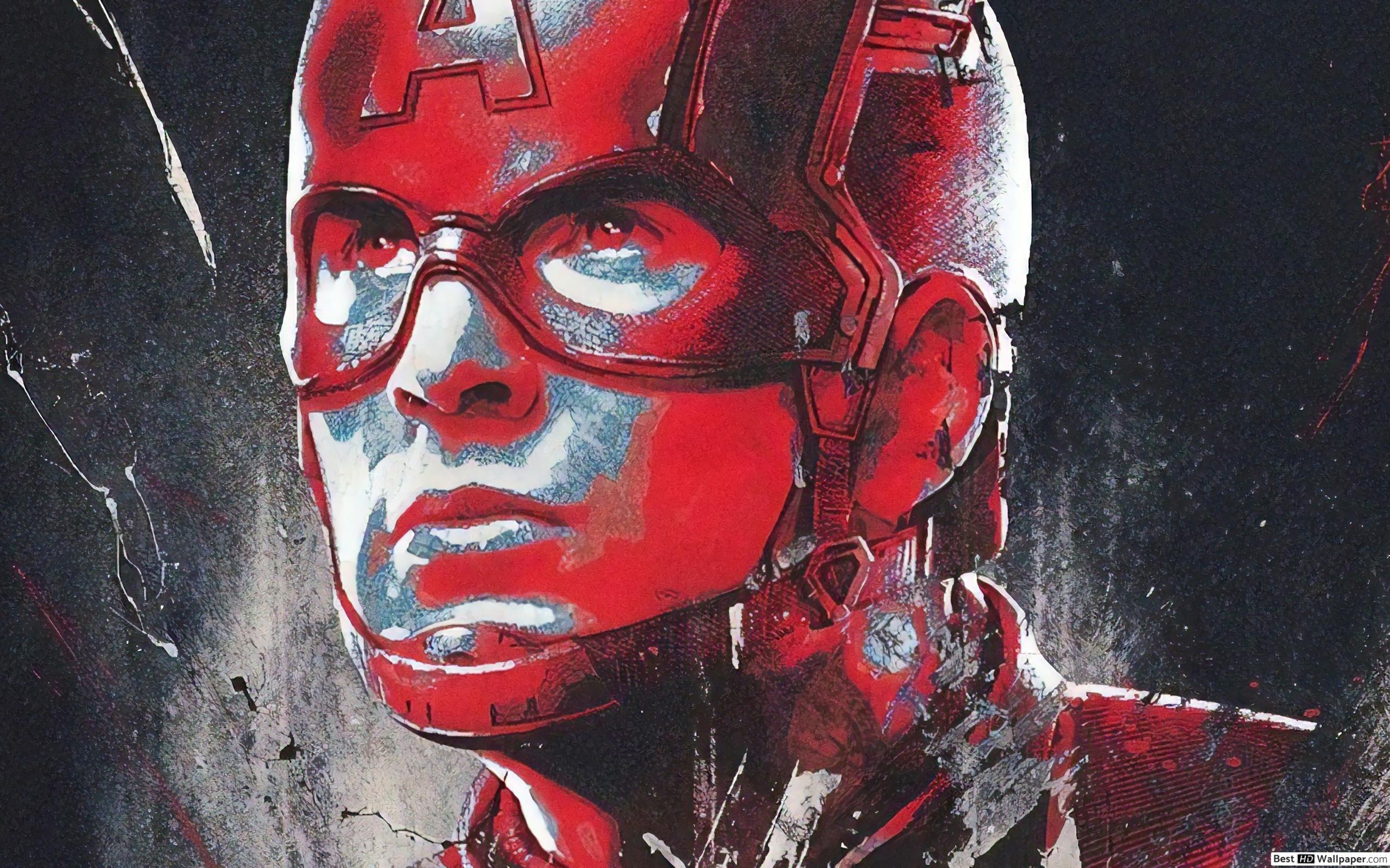 Captain America Wallpaper 4k Avengers Endgame - HD Wallpaper
