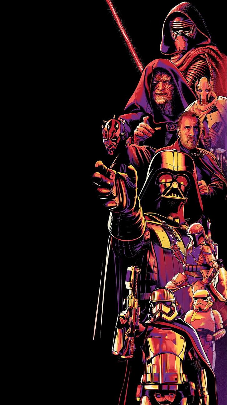Amoled Dark Star Wars Vertical Hd Wallpaper Star Wars Art Wallpaper Iphone 728x1294 Wallpaper Teahub Io
