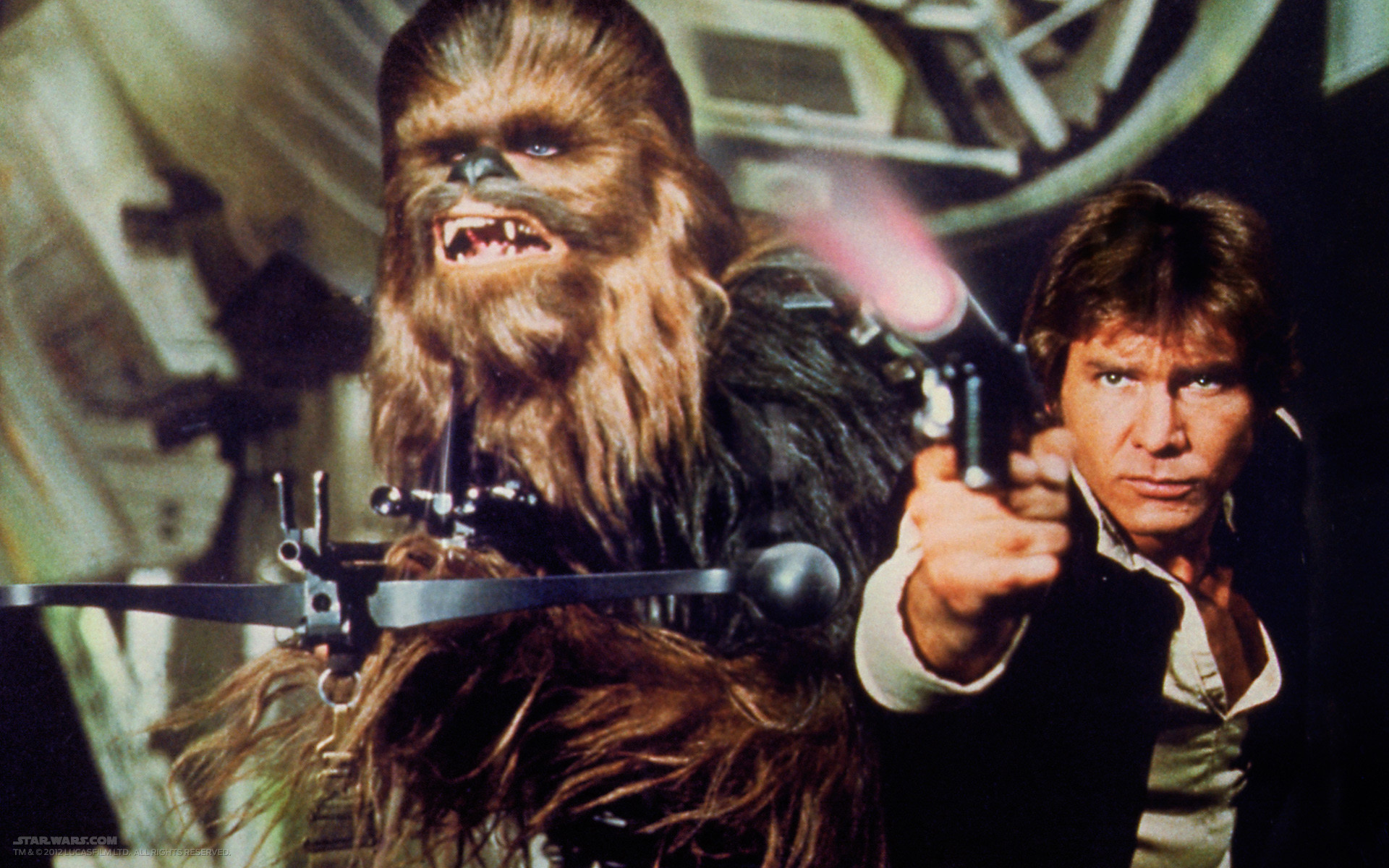 Han Solo Chewbacca And The Millennium Falcon Return Captain Solo Star Wars 1920x1200 Wallpaper Teahub Io
