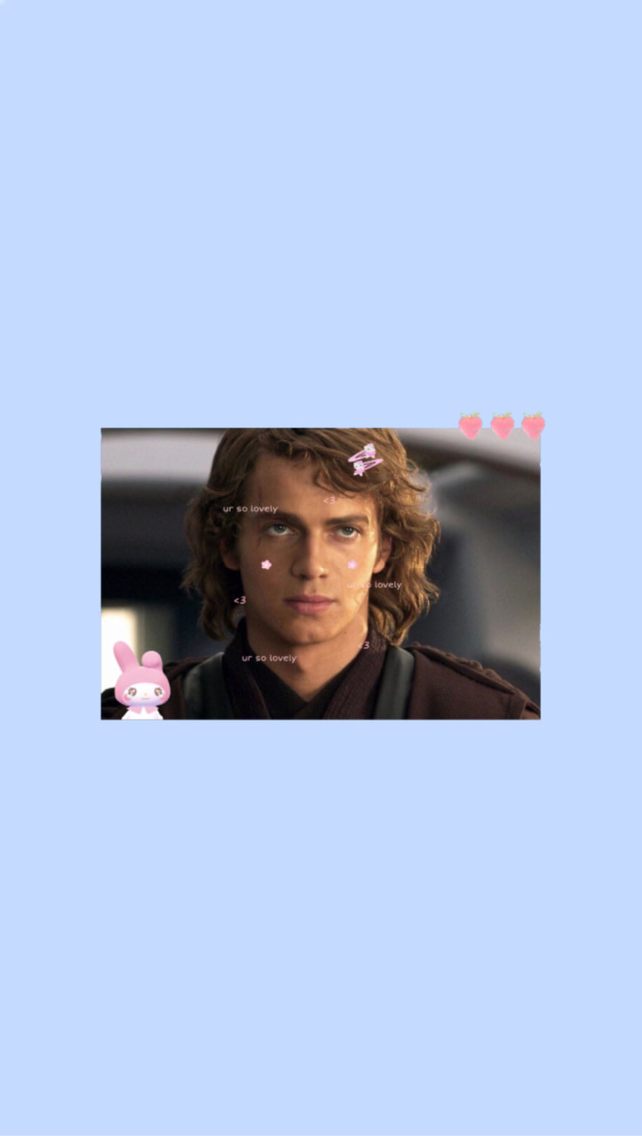 Anakin Skywalker Icon And Layout Image Anakin Skywalker Cute 723x1280 Wallpaper Teahub Io