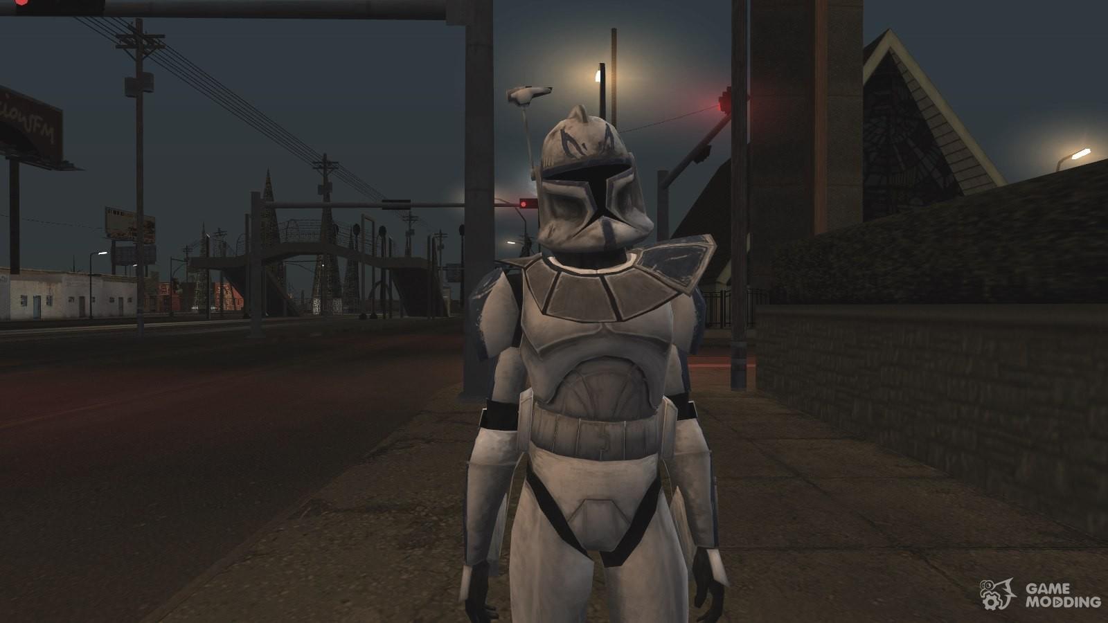 Kapitan Rex From Star Wars Clone Wars For Gta San Andreas Fallout 4 Clones Mods 1600x900 Wallpaper Teahub Io