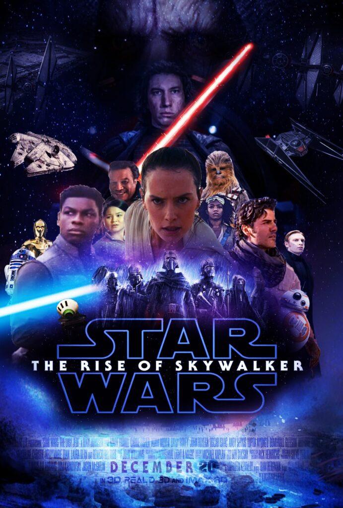 Star Wars The Rise Of Skywalker Poster 691x1024 Wallpaper Teahub Io