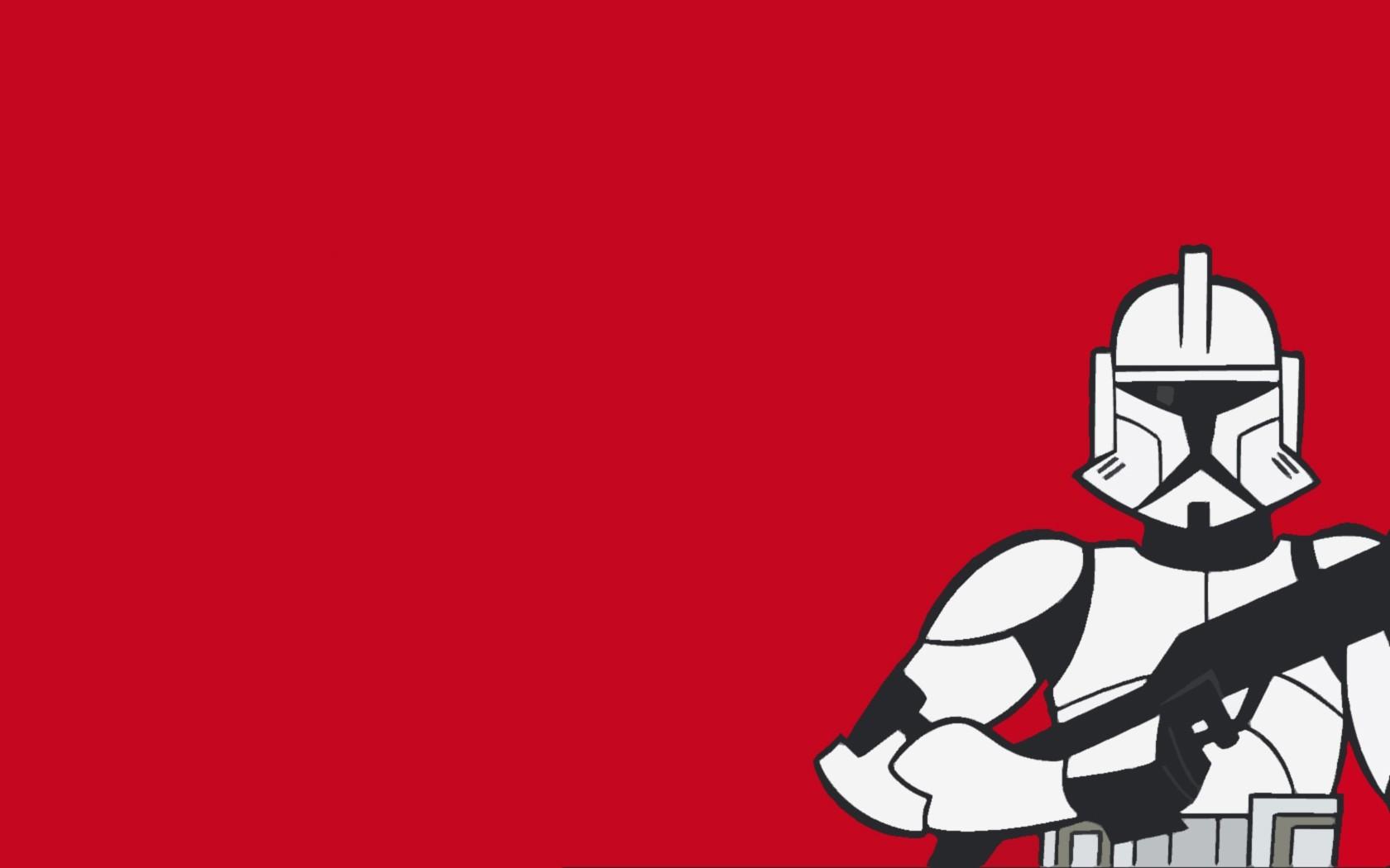 Star Wars Clone Trooper Wallpaper Clone Wars Clone Trooper Wallpaper Hd 1680x1050 Wallpaper Teahub Io