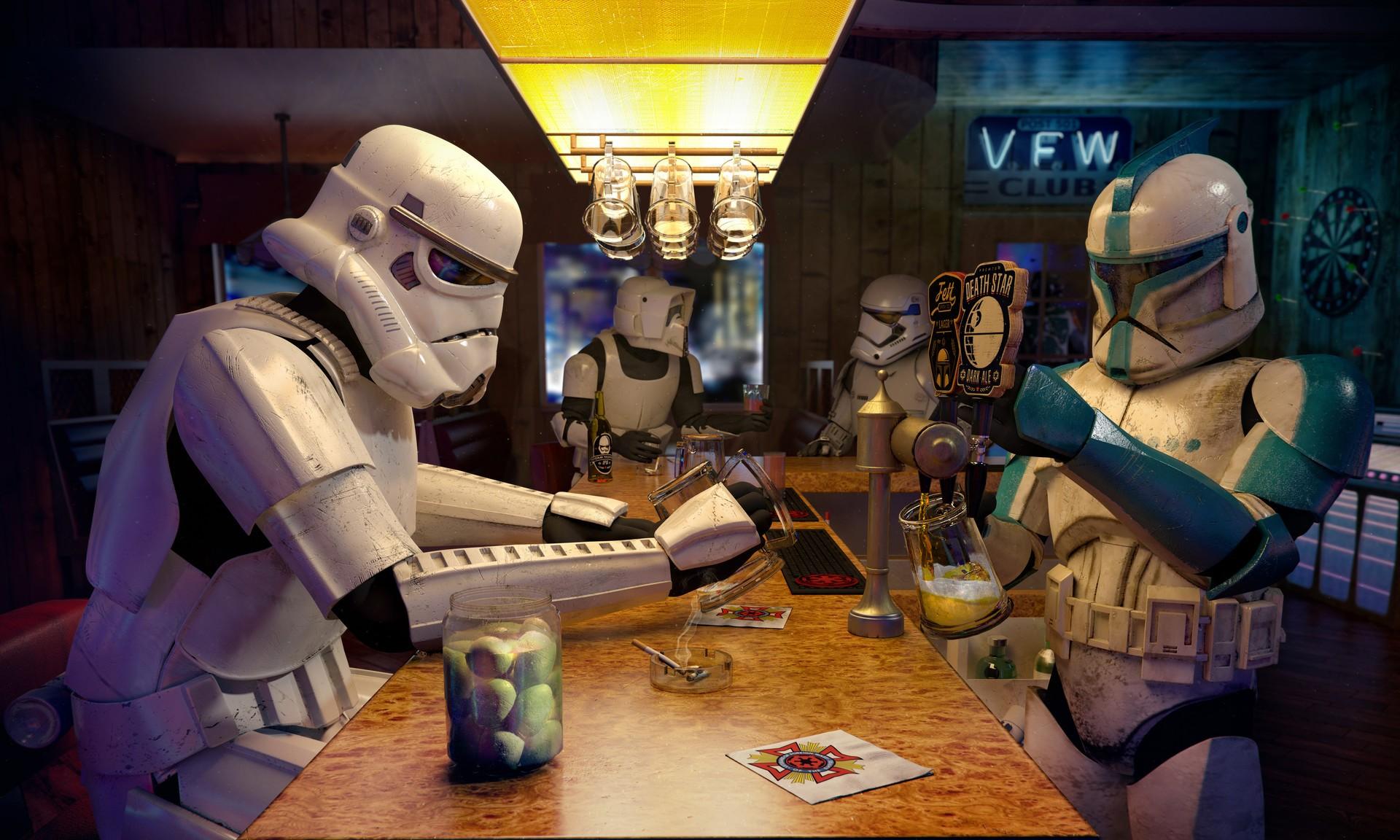 Zoom Background Star Wars - HD Wallpaper