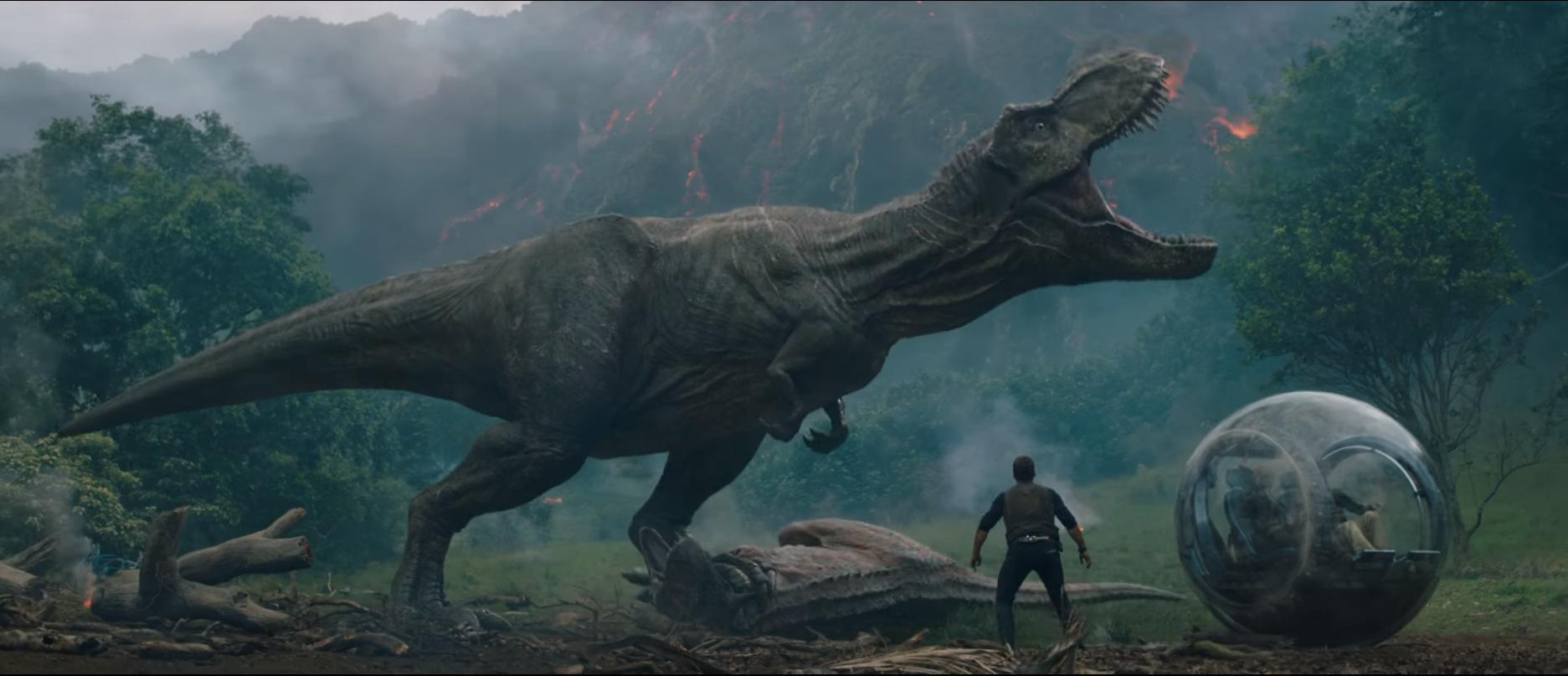T Rex Jurassic World 2 - HD Wallpaper