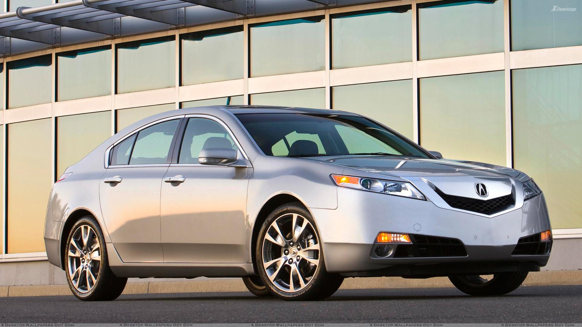 Silver 2009 Acura Tl 1920x1080 Wallpaper Teahub Io