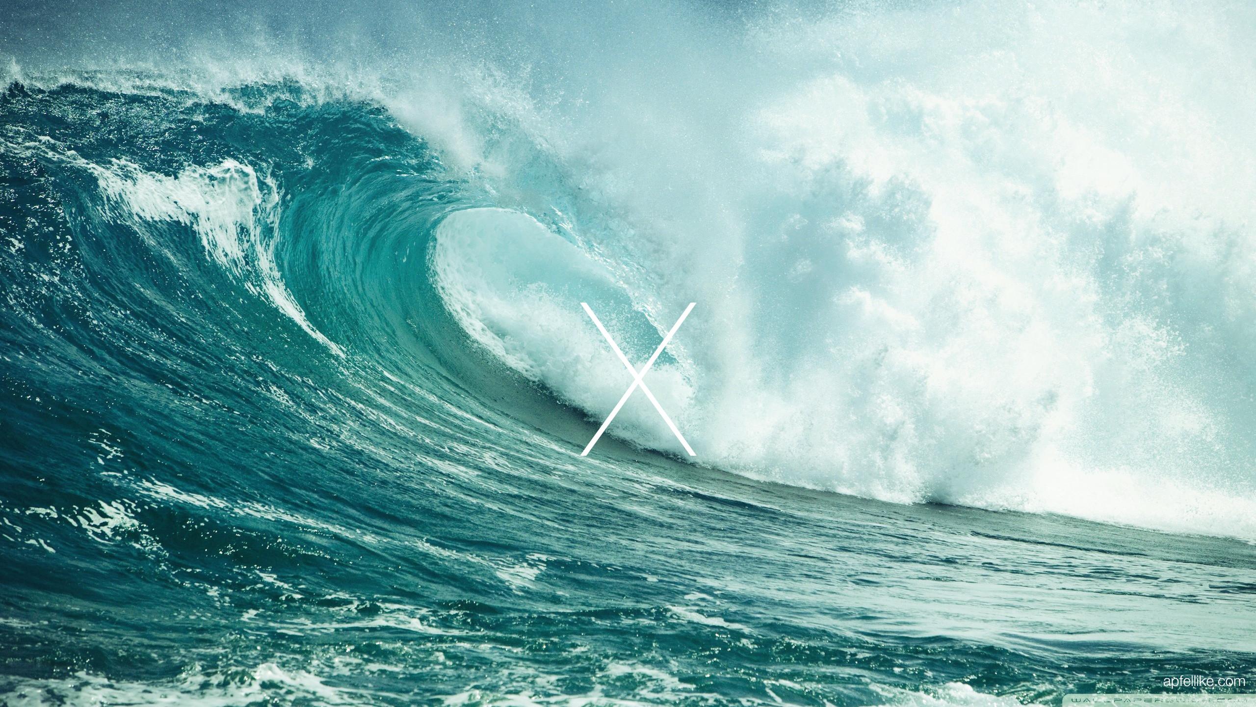 Mac Os X Lion Samsung Galaxy S5 Wallpapers - Ocean Wave Twitter Header - HD Wallpaper