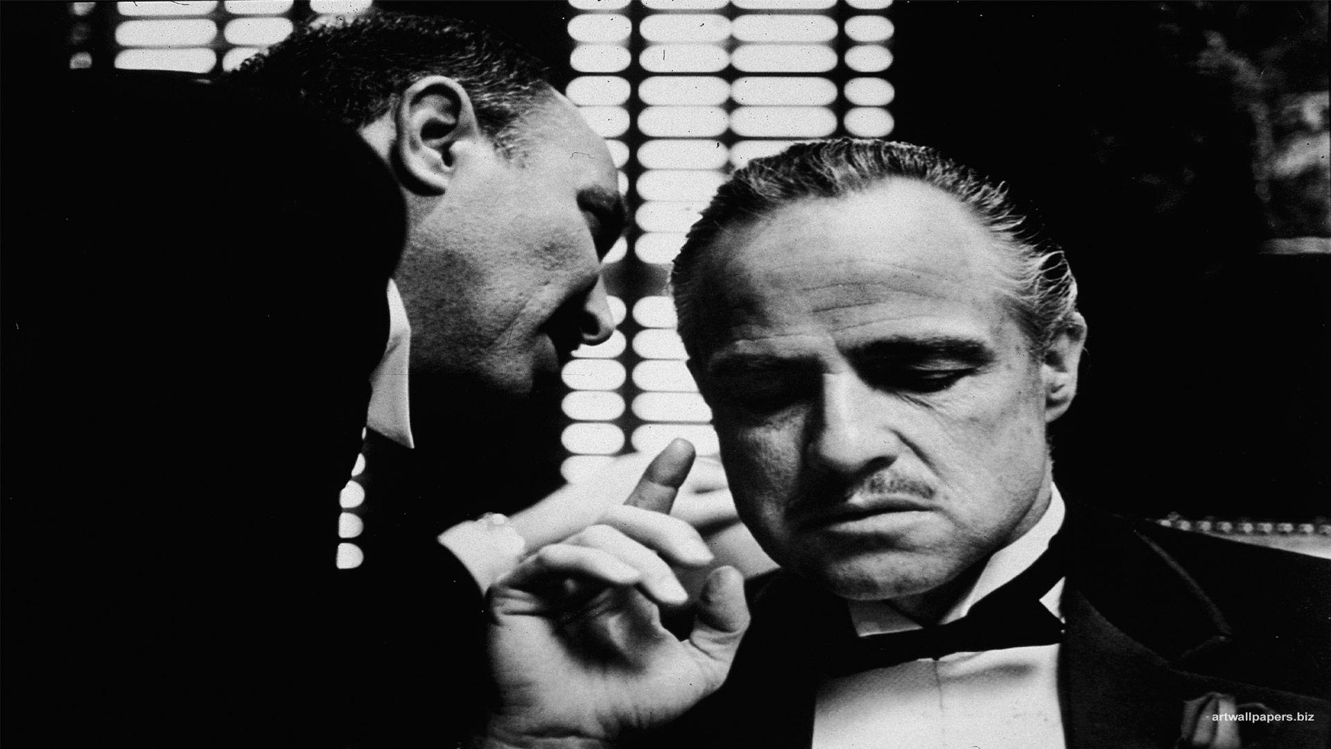 Mind Blowing American Mafia Wallpaper Te   trouble - Marlon Brando Godfather - HD Wallpaper