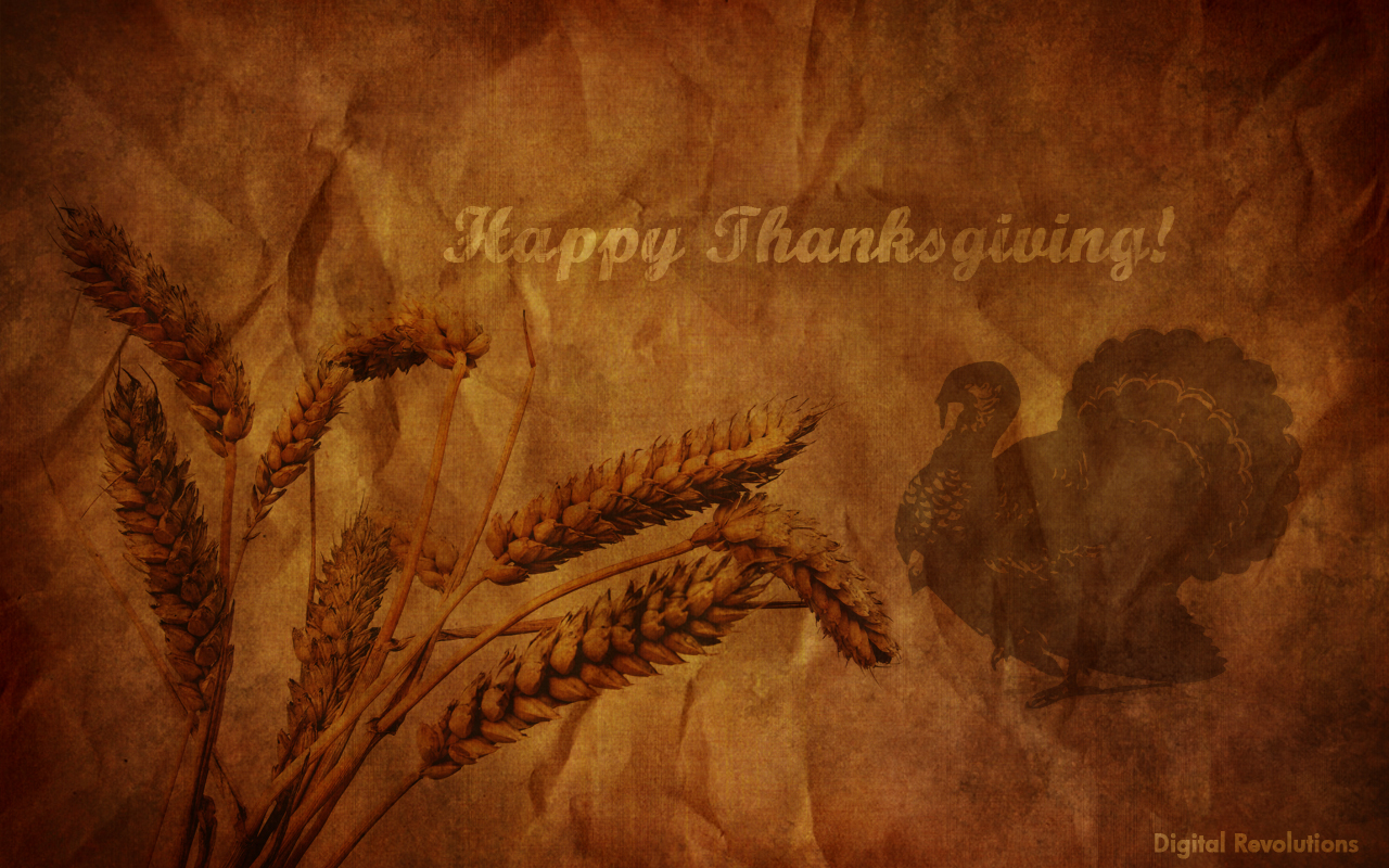 High Resolution Happy Thanksgiving Background - HD Wallpaper