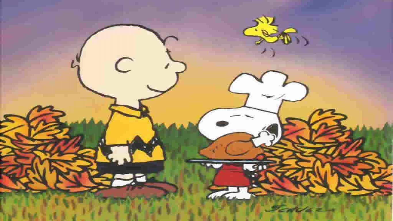 Peanuts Thanksgiving Wallpapers - Charlie Brown Thanksgiving Desktop - HD Wallpaper