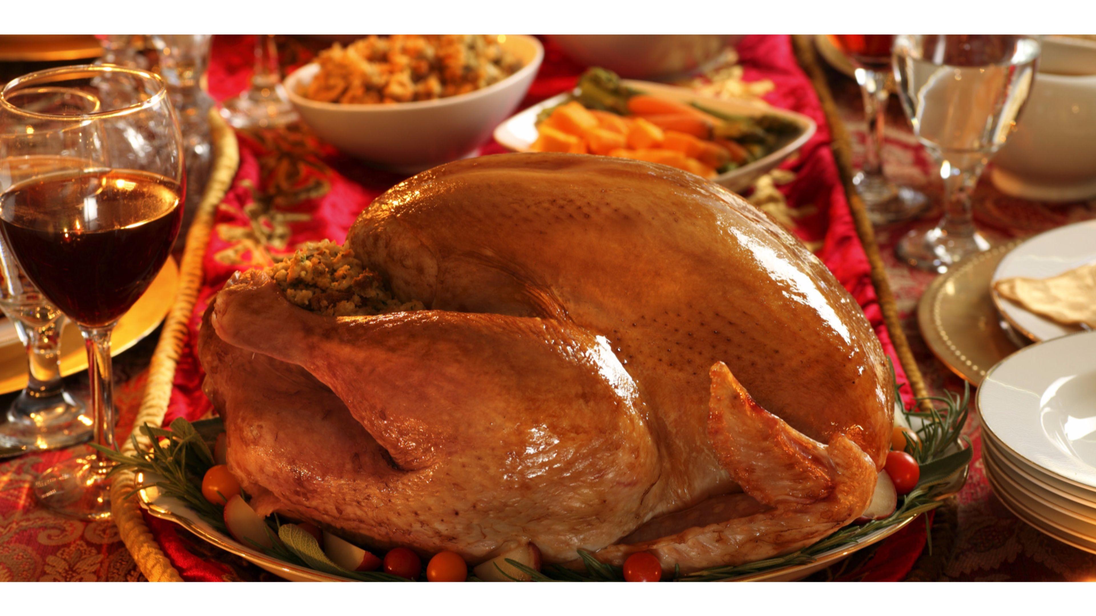 Turkey Dinner Happy Thanksgiving 4k Wallpaper   Data-src - Thanksgiving Menus Restaurant Specials - HD Wallpaper