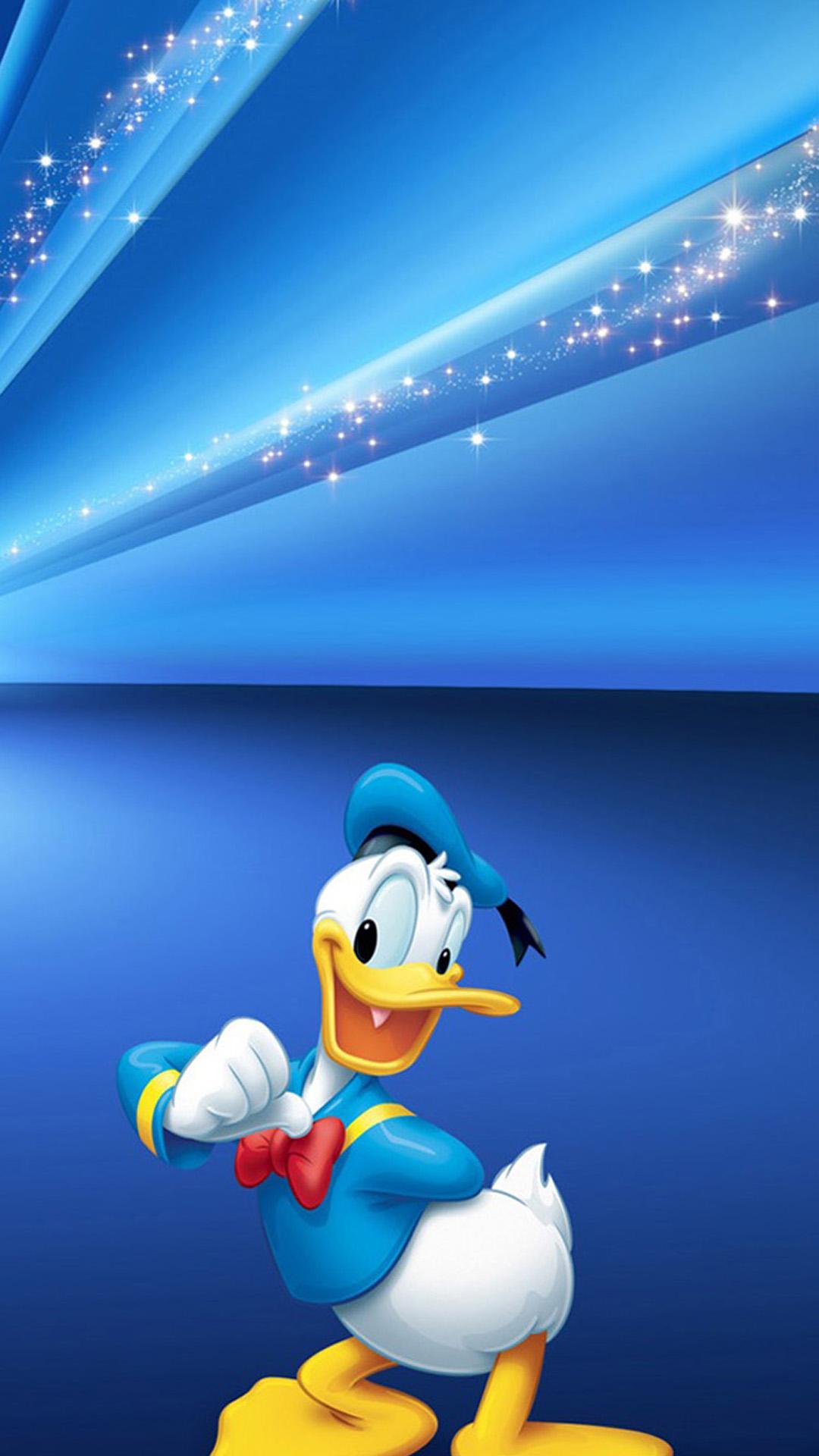 Iphone X Wallpaper Hd Donald Duck - HD Wallpaper