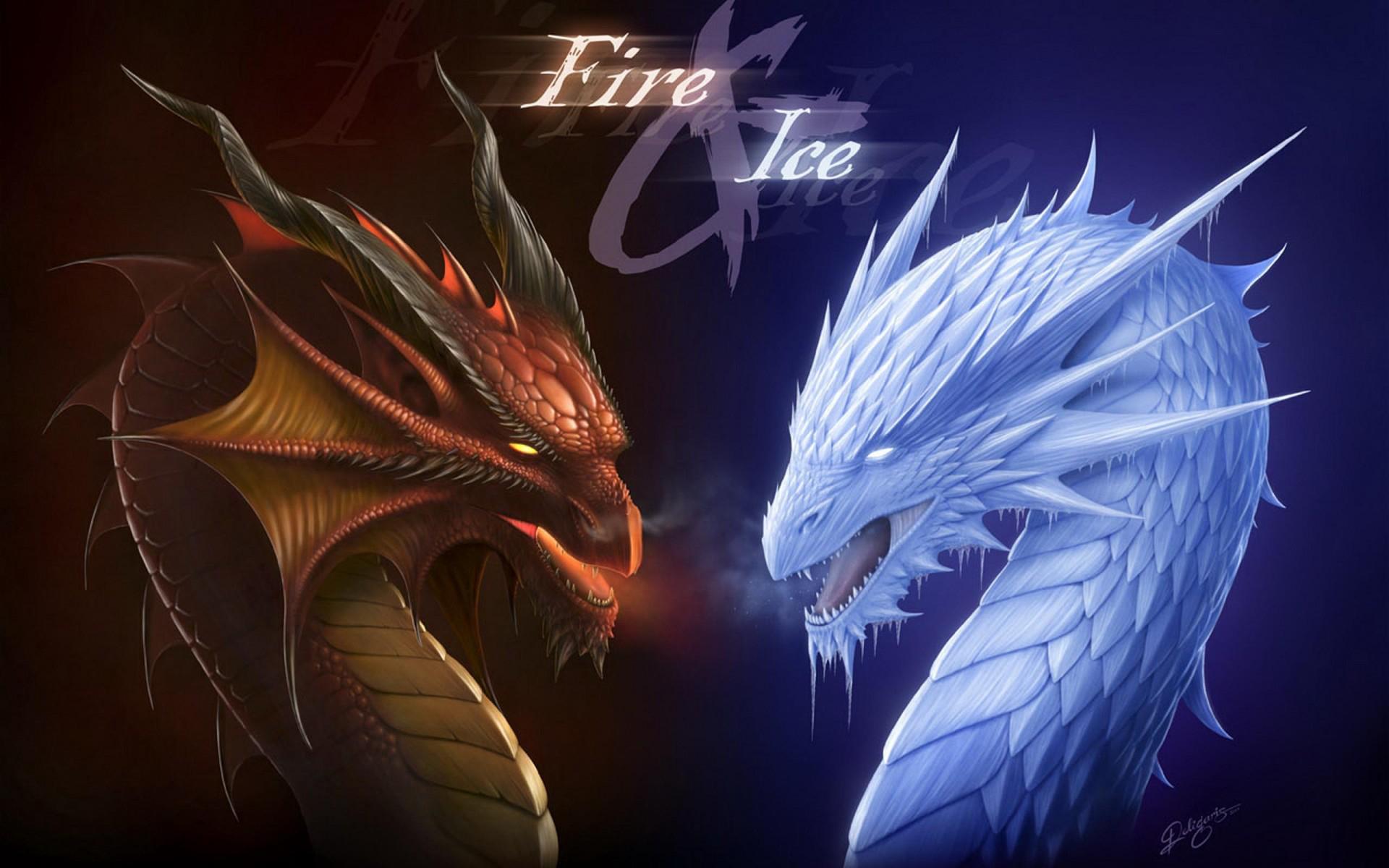 Dragons Fire Blue Ice Dragon 1920x1200 Wallpaper Teahub Io