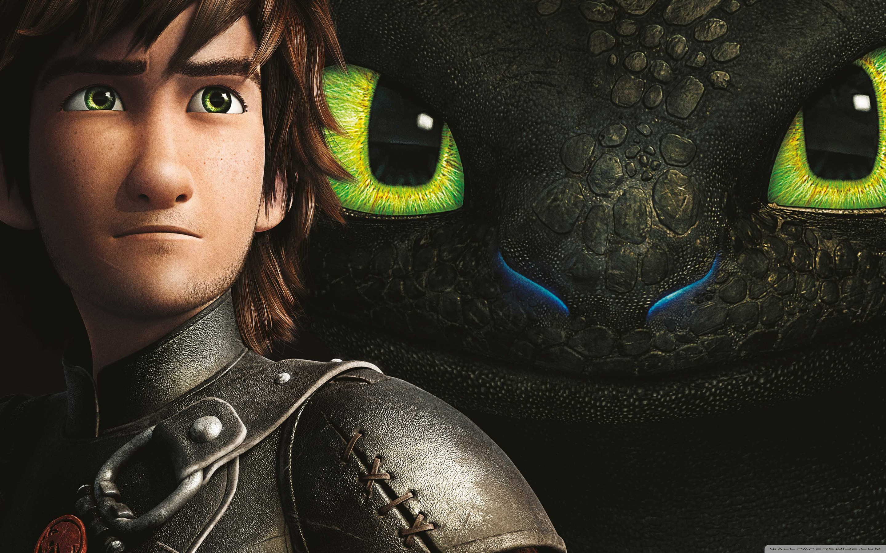 Hiccup And Toothless Wallpaper Hd 2880x1800 Wallpaper Teahub Io