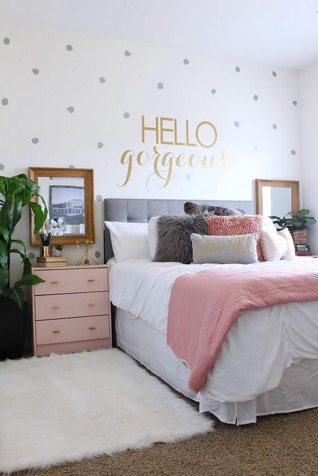Beautiful Bedroom Decoration - Modern Girl Bedroom Ideas - HD Wallpaper