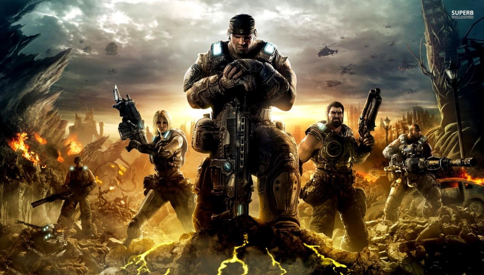 Gears Of War Wallpaper - Gears Of War 4 Hd - HD Wallpaper