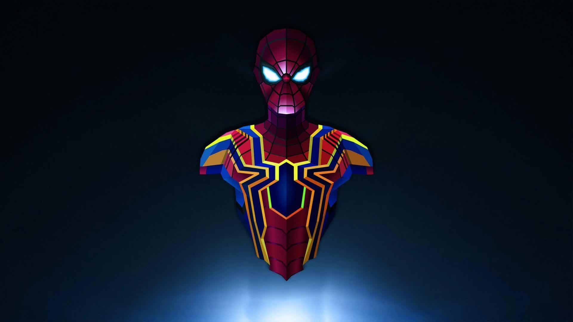 Spiderman Infinity War Wallpaper Hd - HD Wallpaper