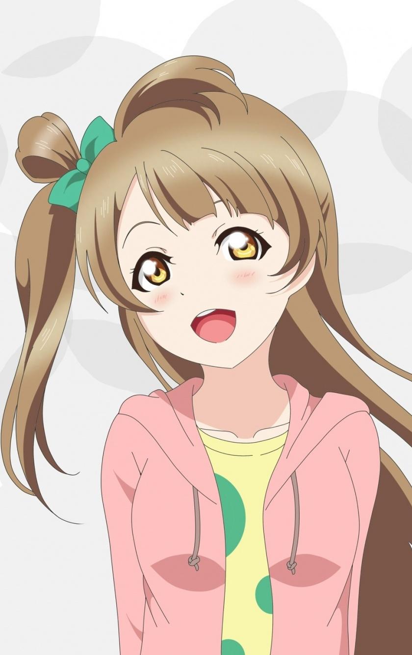 Wallpaper Cute, Yellow Eyes, Kotori Minami, Love Live - Wallpaper - HD Wallpaper