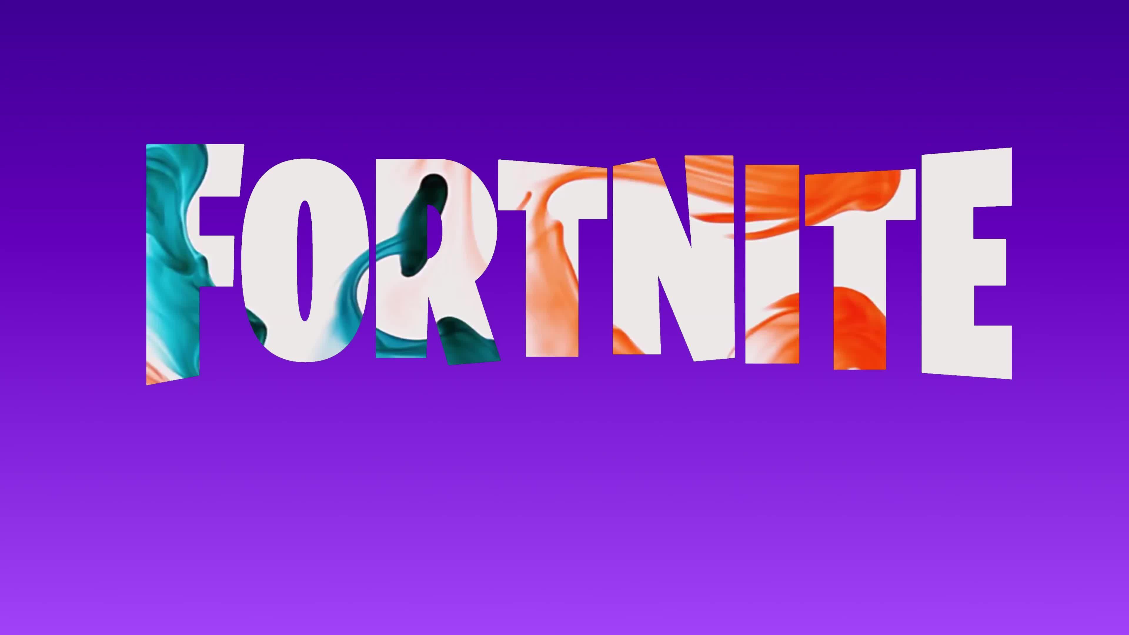 Fortnite Game Fluid 4k Live Wallpaper - Youtube Fortnite Channel Art - HD Wallpaper