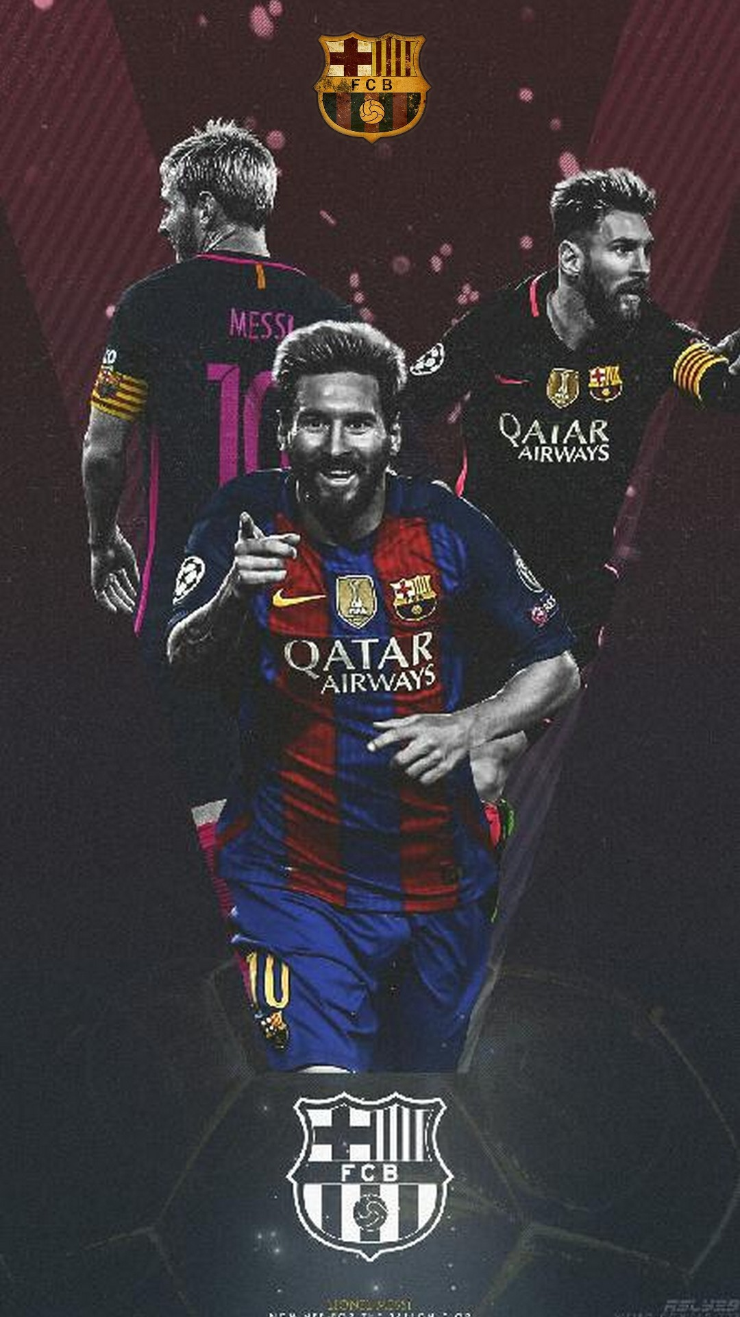 Lionel Messi Barcelona Iphone X Wallpaper With Resolution - Barcelona Wallpaper Iphone X - HD Wallpaper