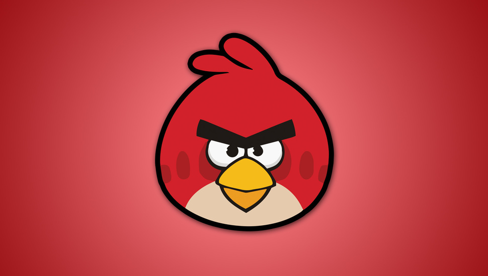 Video Games, Red, Birds, Angry Birds, Angri Birds, - Red Angry Bird Background - HD Wallpaper