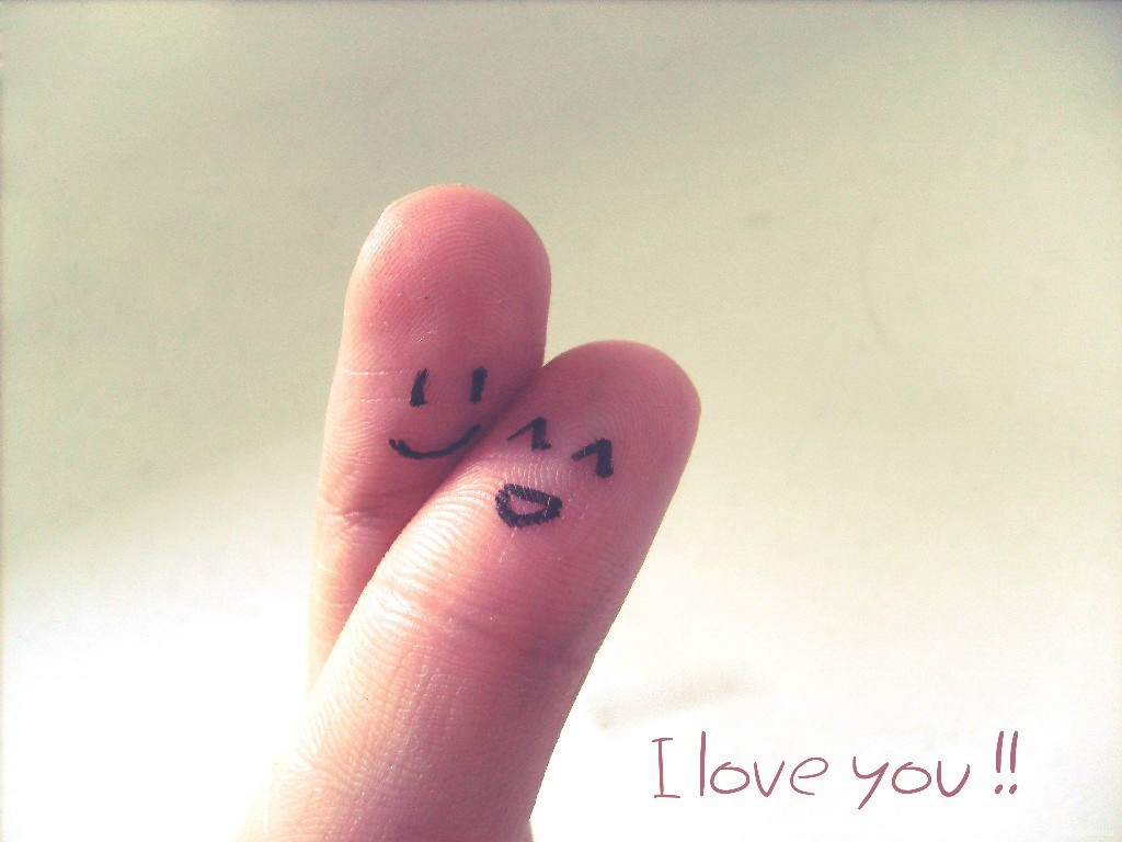 Cute Finger Saying I Love You Live Wallpapers - Cute Wallpaper Hd Love - HD Wallpaper