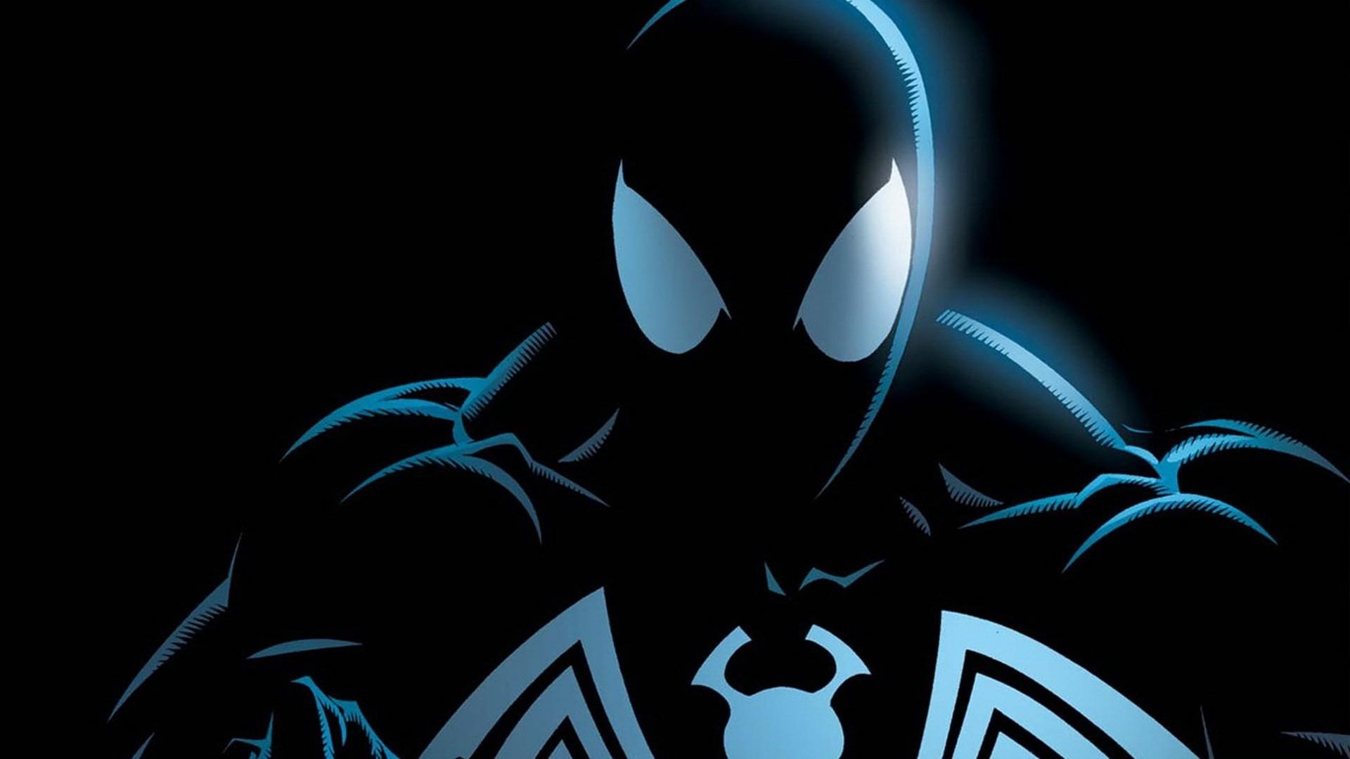 Hd Black Spiderman Iphone Wallpaper - Black Spiderman Wallpaper Hd - HD Wallpaper