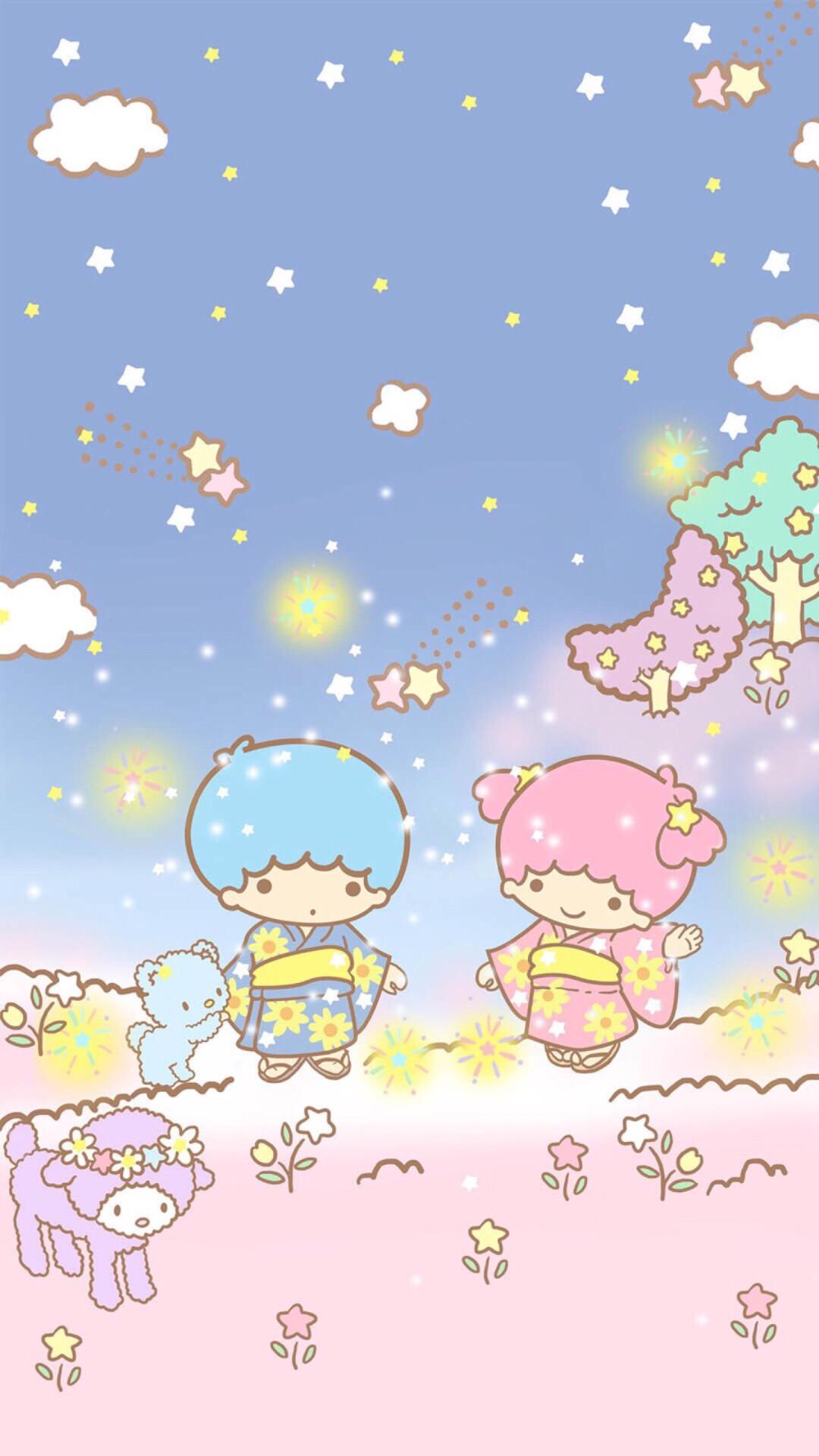 Sanrio Little Twin Stars ¤   Data Src Sanrio Wallpaper - Little Twin Stars Wallpaper Iphone - HD Wallpaper