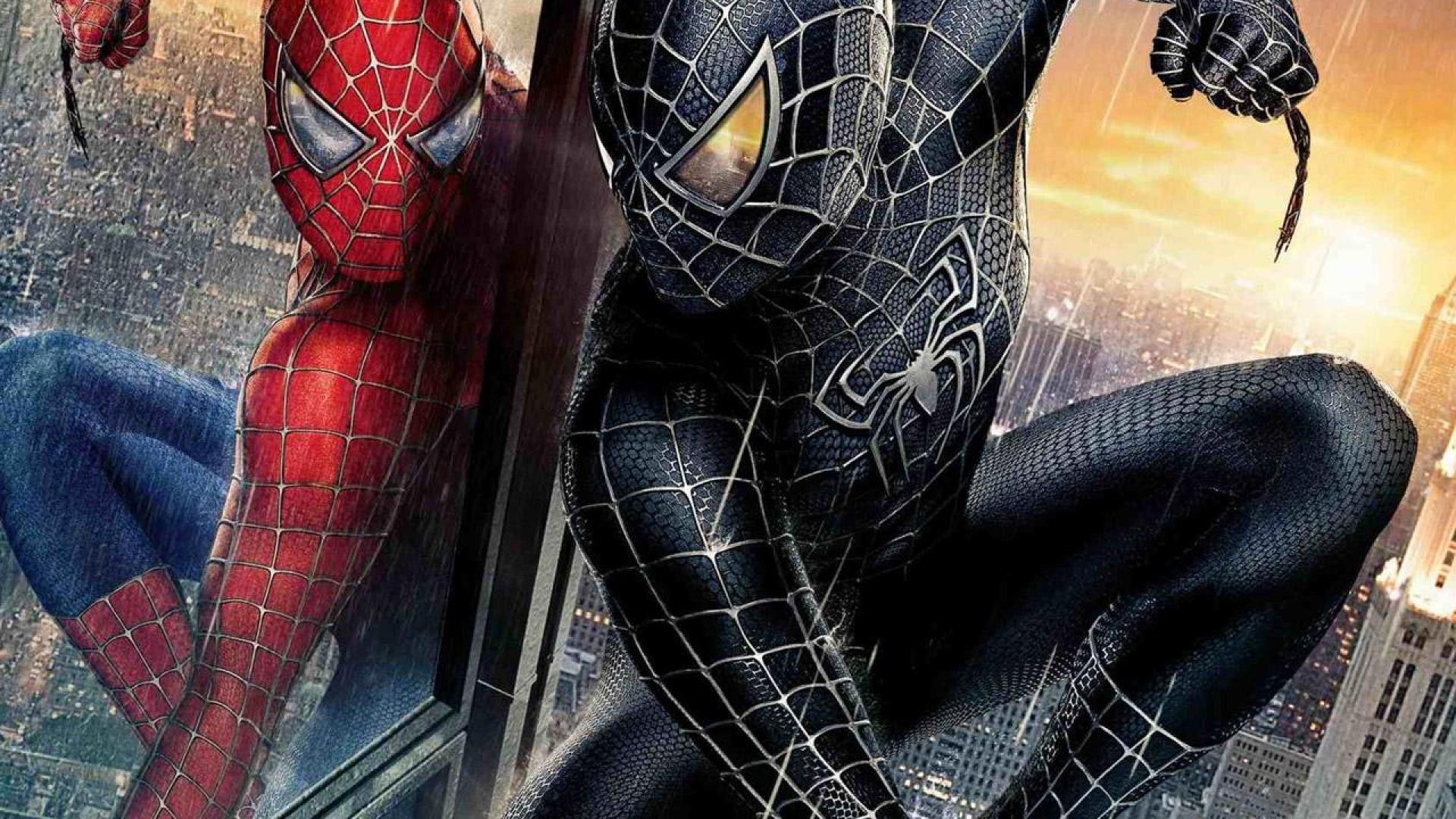 Black Spiderman Wallpaper Full Hd - Spiderman 3 Wallpaper Hd - HD Wallpaper