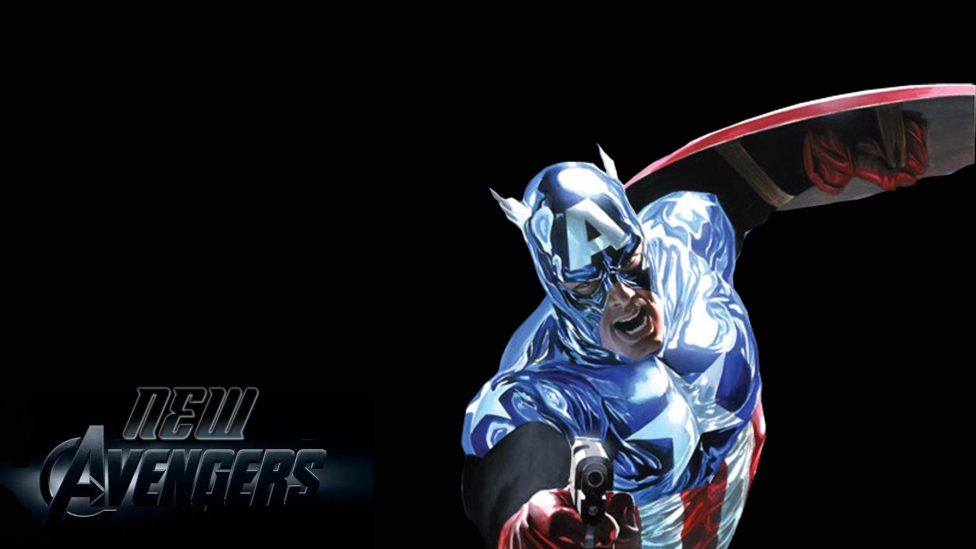 New Avengers Captain America Hd Wallpaper - Full Hd Avenger Wallpaper Hd - HD Wallpaper
