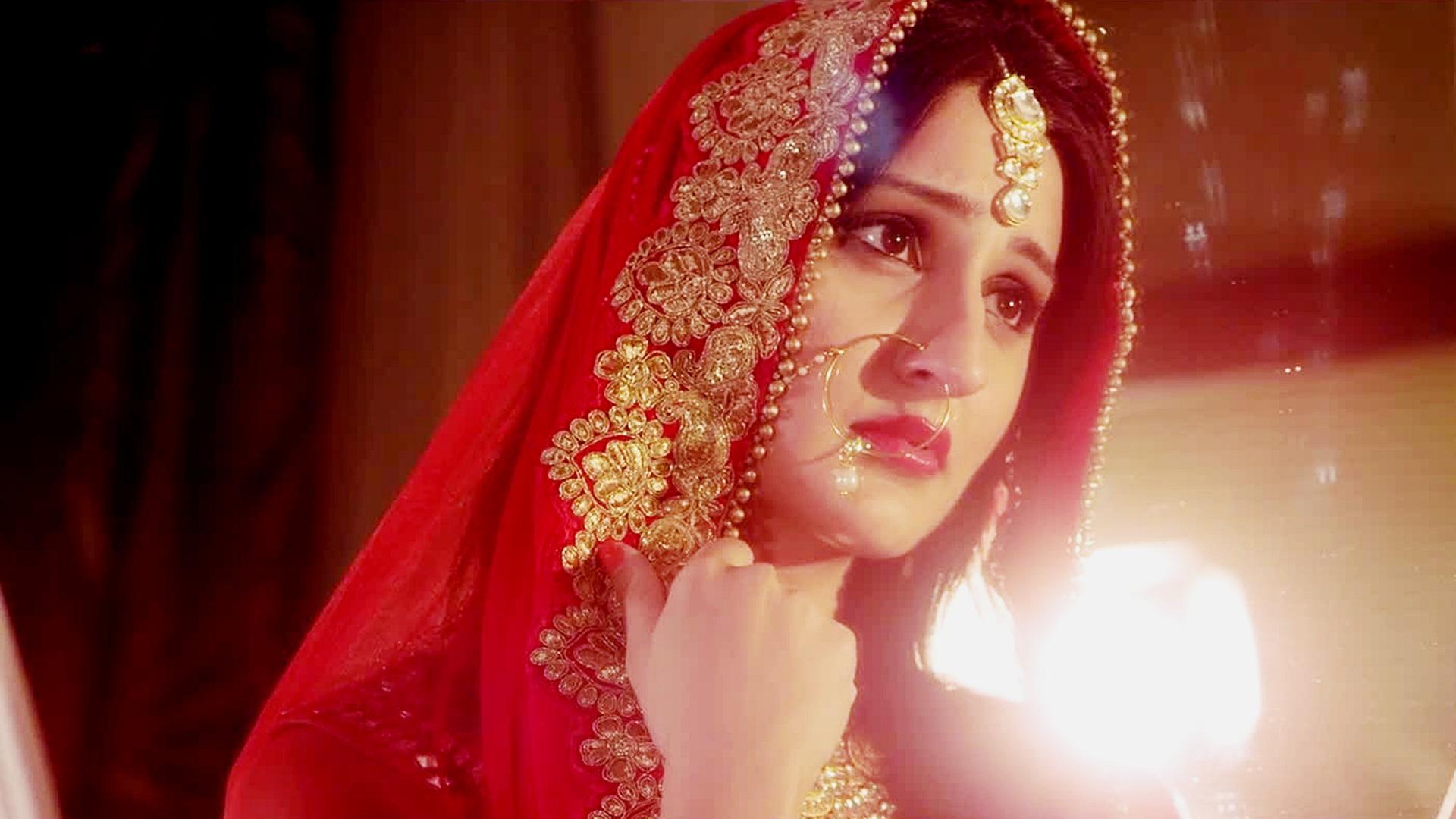Cute Indian Bride Girl Wallpaper Cute Wedding Indian Girl 1920x1080 Wallpaper Teahub Io