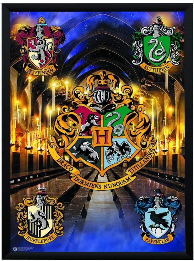 Hogwarts Harry Potter Poster - HD Wallpaper