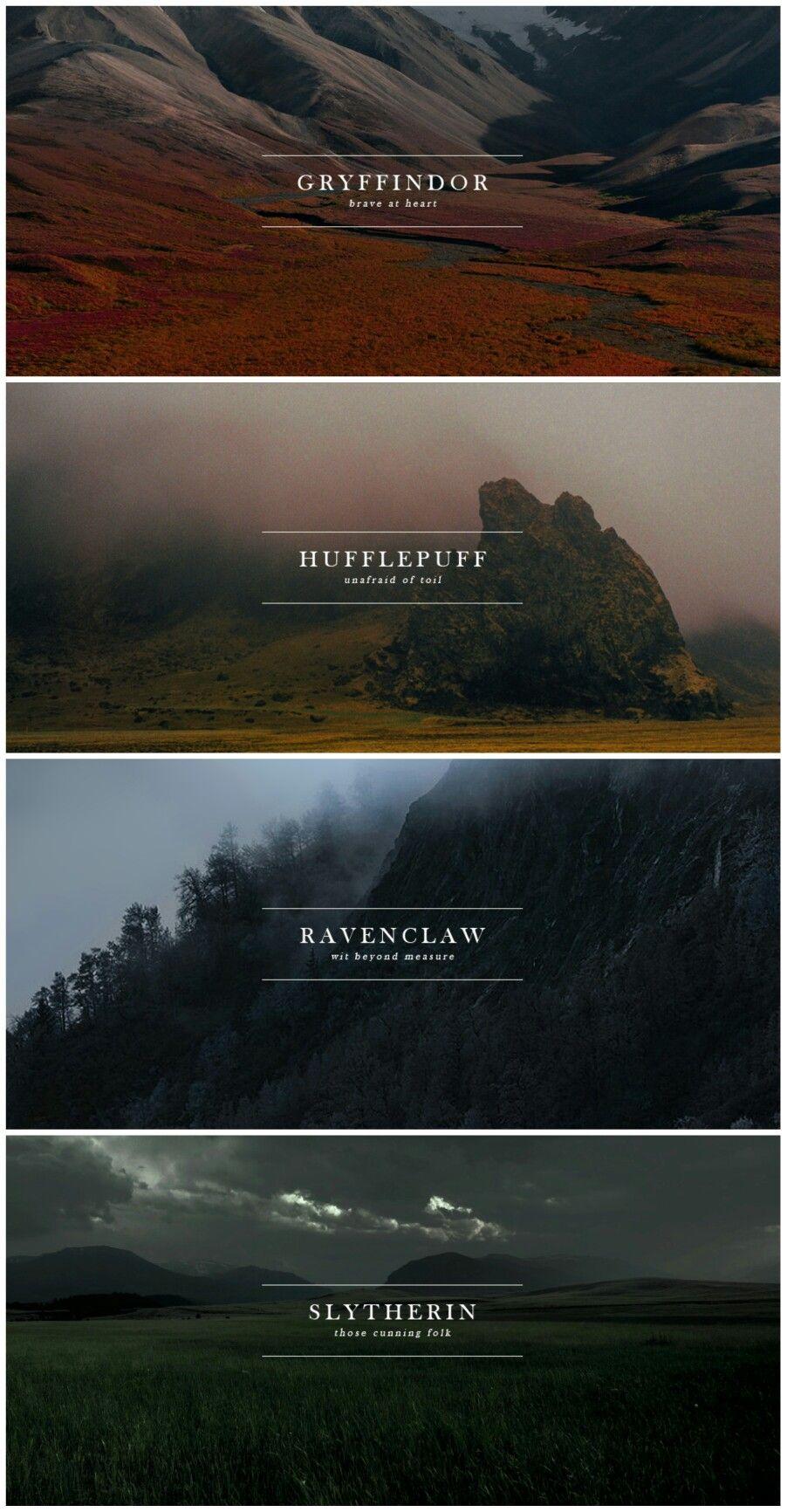 Hogwarts Houses - Aesthetic Harry Potter Spells - HD Wallpaper