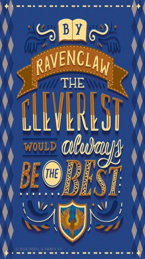 Harry Potter Ravenclaw Quote - HD Wallpaper