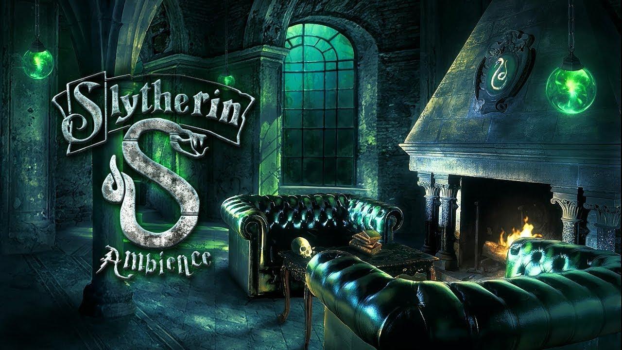 Slytherin Common Room - HD Wallpaper