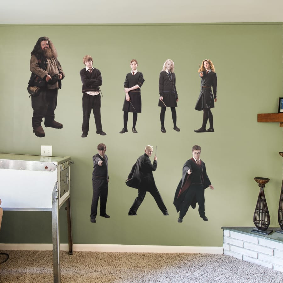 Harry Potter Wall Stickers - HD Wallpaper