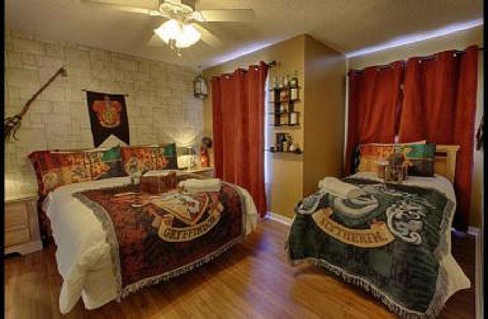 Harry Potter Themed Bedroom - HD Wallpaper