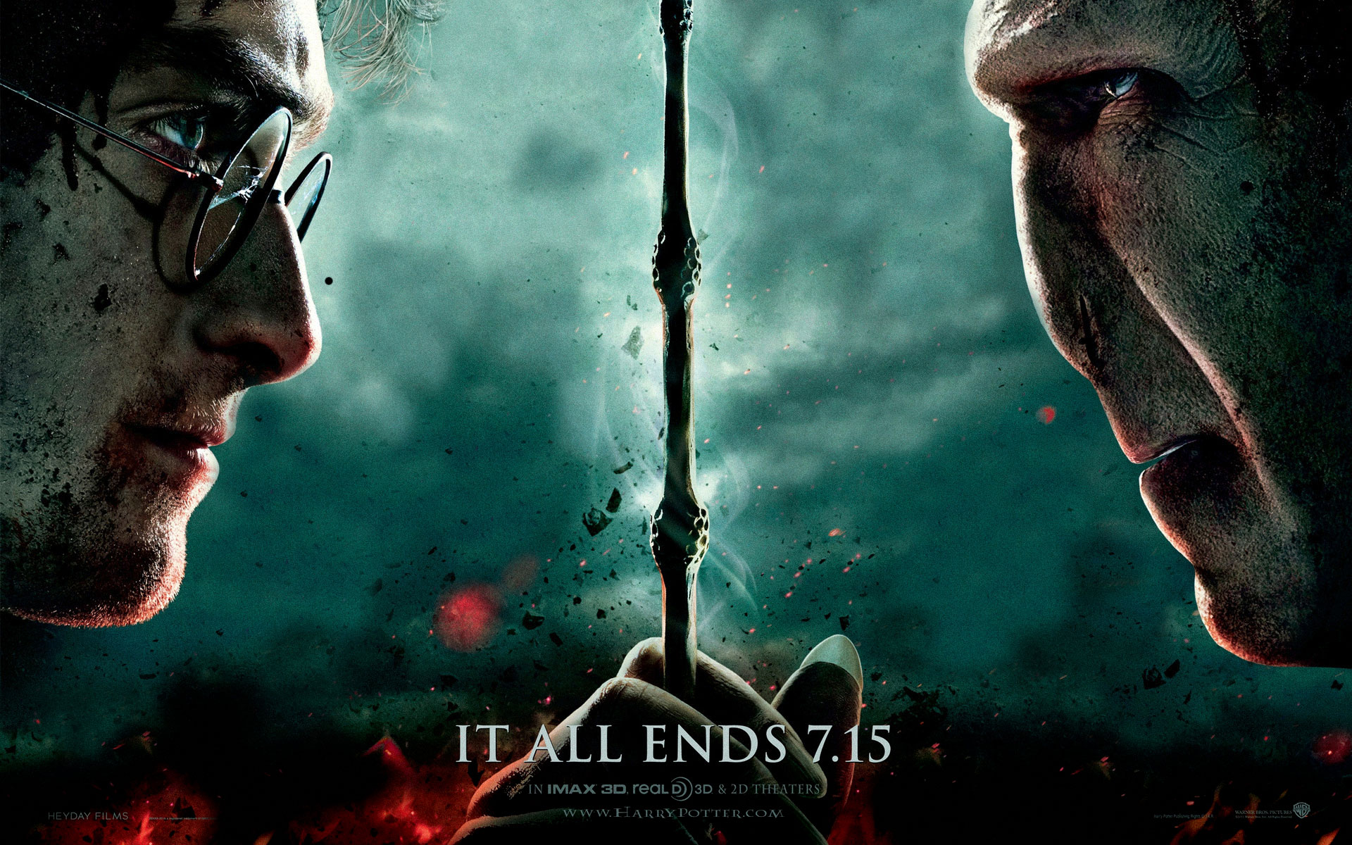Harry Potter And The Deathly Hallows: Part Ii (2011) - HD Wallpaper