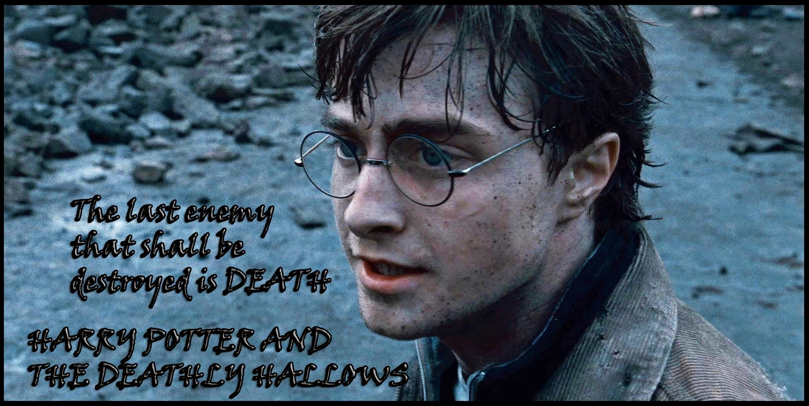 Harry Potter - Harry Potter In Deathly Hallows Part 2 - HD Wallpaper