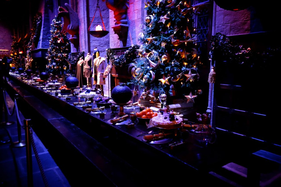 Moscow New Year S Eve In Harry Potter Style - Hogwarts New Years Eve - HD Wallpaper