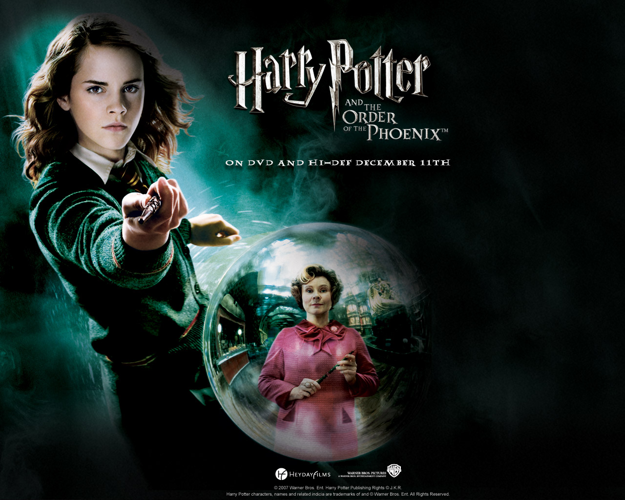 Harry Potter Order Of The Phoenix Movie Poster - HD Wallpaper