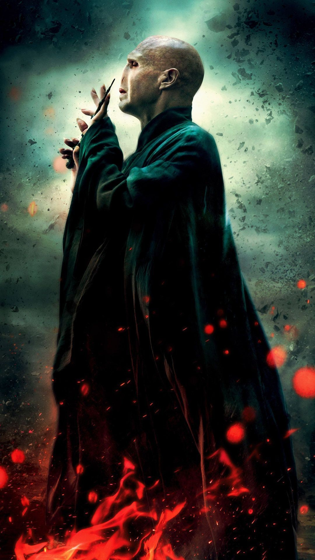 Lord Voldemort Mobile Wallpaper 8701   Data Src Free - Harry Potter And The Deathly Hallows: Part Ii (2011) - HD Wallpaper
