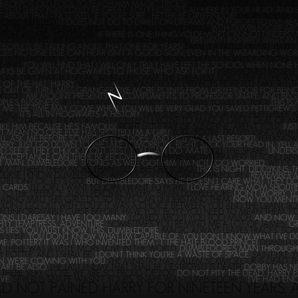 Harry Potter And Quote Image - Harry Potter Quotes Wallpaper Ipad - HD Wallpaper